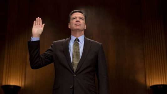 Comey explains why he told Congress about Clinton probe just days before election.