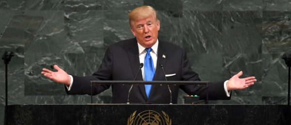 'A Future Of Dignity And Peace' -Trump Delivers Forceful UN Speech. Here's What He Said