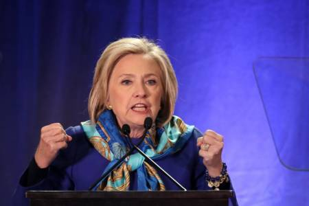 Hillary Refuses To Condemn The Left Becoming 'Uncivil' — Calls For 'Strength' To Resist Trump.