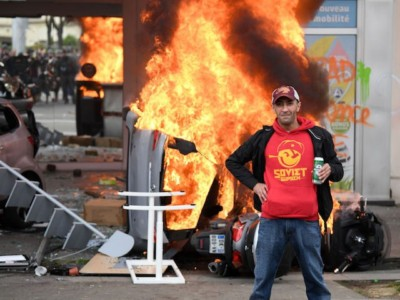 Marxists Around the World Celebrate May Day with Violent Protests.