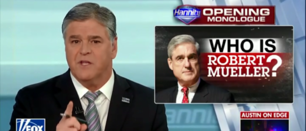 Hannity Digs Up Dirt On Mueller's Past And Finds He's Not So Clean After All.
