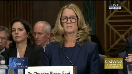 Developing => Christine Ford Arrives to Hearing – Grassley Delivers Opening Remarks – LIVE FEED