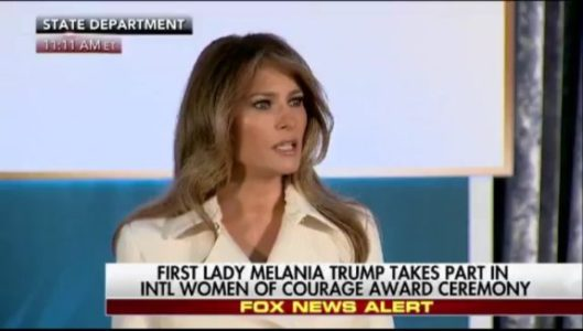 FLOTUS Encourages Women: 'The Era of Allowing Brutality Against Women is Over' (VIDEO)
