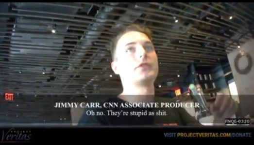 "BREAKING – O'Keefe Drops 3rd Undercover Bombshell => CNN Producer: ""Voters Stupid as 'Sh*t"" (VIDEO)"