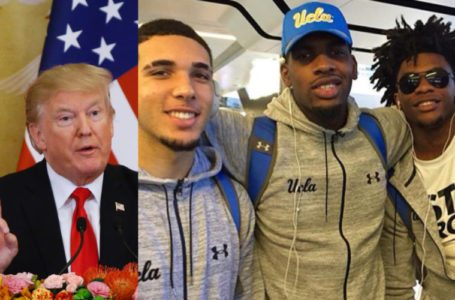 China Releases UCLA Basketball Players After Donald Trump Intervenes