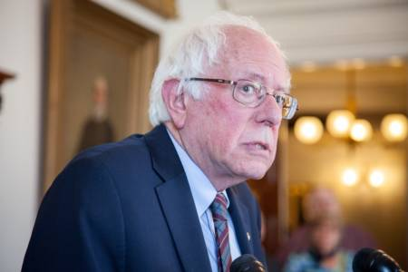 For second year, Sanders earns more than $1M