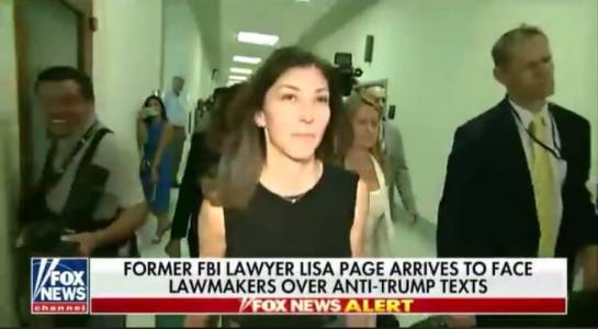 GOP Lawmakers: Lisa Page Answered Many Questions Peter Strzok Refused To – She's a Credible Witness and Cooperating