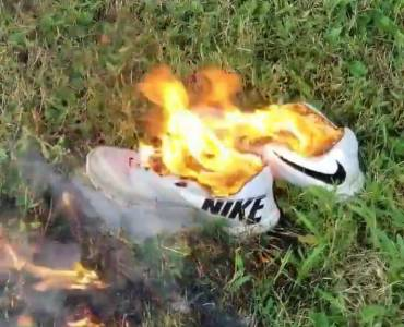 """I'm Burning My Nikes"" – Americans Launch Boycott Against Nike After Colin Kaepernick Named as Face of 30th Anniversary."