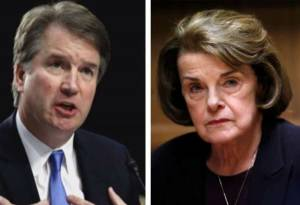 Far Left Group Spending Millions of Dollars to Fight Kavanaugh Confirmation Run by Former Feinstein Aide.