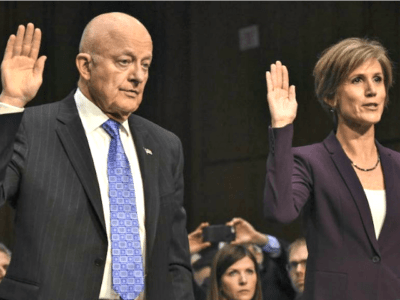 Former Director of National Intelligence James Clapper Says He and Susan Rice Both 'Did Unmaskings'