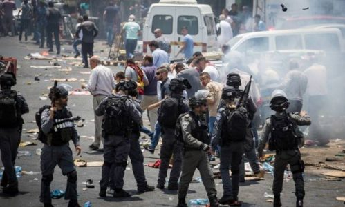 WATCH: Violent Arab Riots Bring Chaos to Jerusalem; Palestinian Protesters Killed