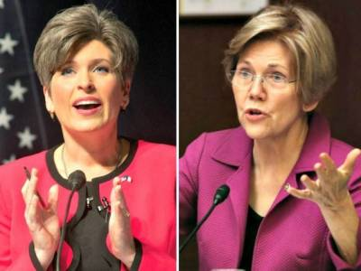 Exclusive–Joni Ernst Slams Elizabeth Warren: Mollie Tibbetts 'Forever Separated from Her Family'