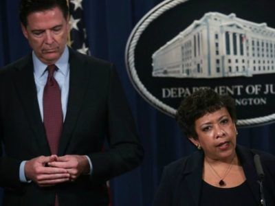 Exclusive — Back on Offense: Conservatives Plan to Press for Official Congressional Investigation into James Comey, Loretta Lynch