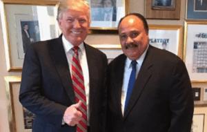 Major Media Ignored or Downplayed Trump's Meeting with MLK III