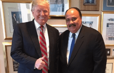 Major Media Ignored or Downplayed Trump's Meeting with MLK III