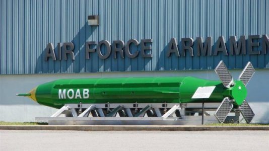 BREAKING: US drops largest non-nuclear bomb on IS target in Afghanistan.