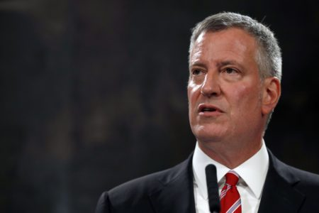 NYC Mayor De Blasio Sues Oil Companies for Global Warming – The Week After NYC Records All-Time Record Cold