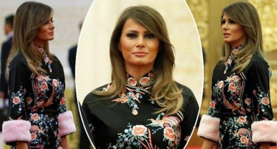 9d8f41d45 All Eyes on Jaw-Dropping Gorgeous Melania Trump in China (Photos ...