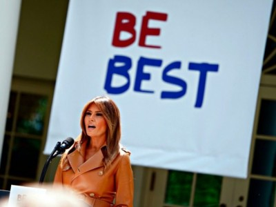 Melania Trump Unveils 'Be Best' Parent and Child Policy Initiative.