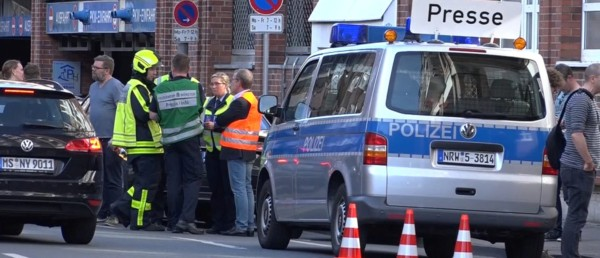 Three Dead After Vehicle Plows Into Crowd In German City.