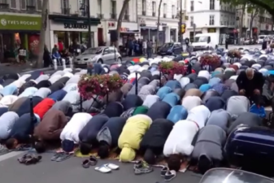 France Allows Muslim Street Prayers But Bans Christmas Movie Because It Was 'Too Christian'