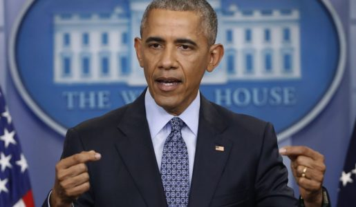 Obama heads to Chicago to agitate against Trump.