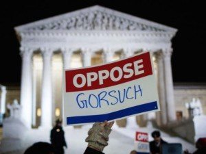 Rep. Louie Gohmert: Protests Against Gorsuch Nomination Are 'Fake News' Funded by 'Soros Money'