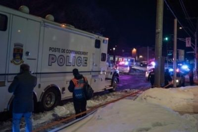 """Quebec cops now say Alexandre Bissonnette sole suspect in """"Allahu akbar"""" shooting at mosque"""