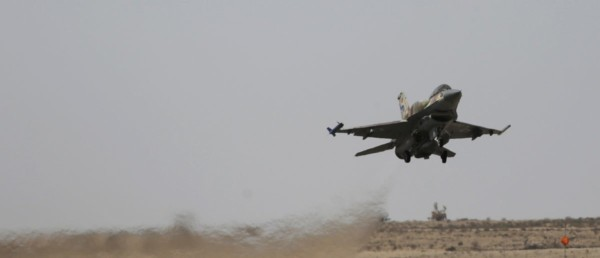 Israel Unleashes Hell On Iranian, Syrian Military Sites After One Of Its Fighters Was Shot Out Of The Sky.
