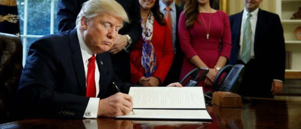 Trump Cuts Federal Regulations To Levels Not Seen Since Reagan Administration