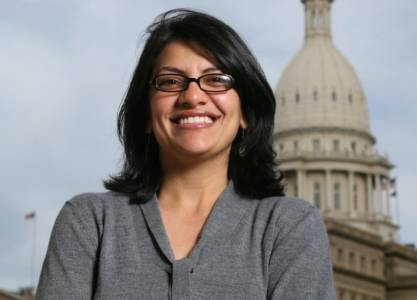 Rashida Tlaib Is Set to Become the First Muslim Woman in Congress.