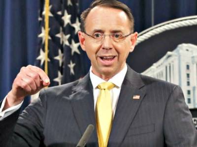 Report: House Conservatives Move Forward with Plans to Impeach Rod Rosenstein.