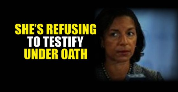 BREAKING: Susan Rice DECLINES Senate Request to Testify on Russian Hacking.