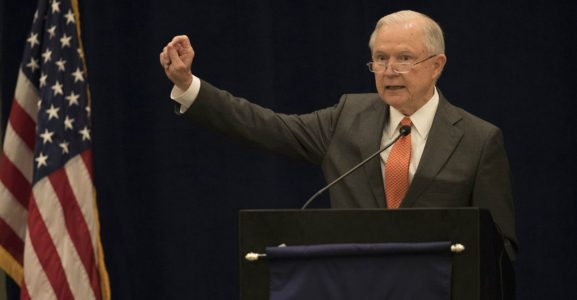 Jeff Sessions Warns Sanctuary Cities About Missing Out on Help to Fight Crime