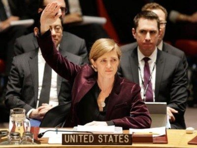 Samantha Power Watched Half a Million Arabs Die — Then Slammed Israel