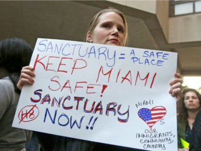 Poll: Only 35 Percent of Americans Want to Live in Sanctuary Cities.