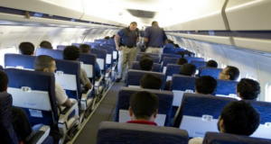 Now illegal aliens are getting priority boarding on commercial flights?