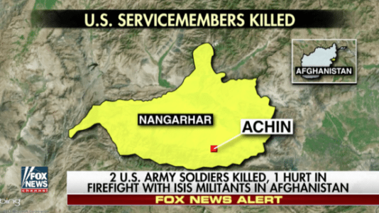 2 US Soldiers Killed, 1 Injured in Firefight in Afghanistan (VIDEO)
