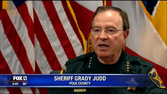 Florida sheriff encourages constituents: 'If you're not afraid of a gun, get one'