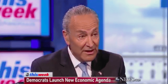 FAKE NEWS: In Bizarre Rant, Schumer Claims Gas Prices 'Never Go Down,' Despite 12-Year Low Under POTUS (VIDEO)