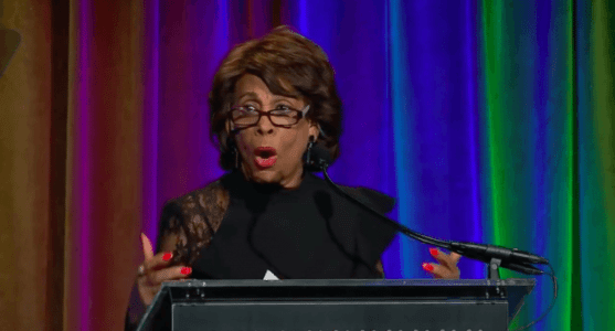 GOP Challenger Calls for Rep. Maxine Waters to Be Arrested for Threatening to 'Take Trump Out'