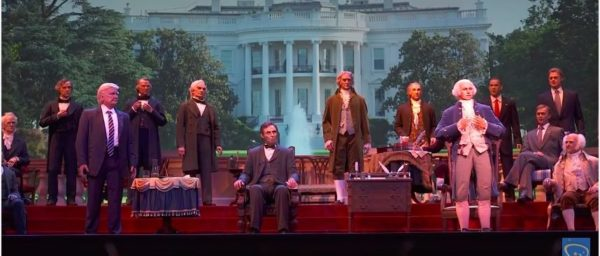 Trump Finally Debuts In 'Hall Of Presidents' At Disney World [VIDEO]