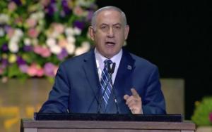 On 70th anniversary, Netanyahu says Israel's light will beat enemies' 'darkness'