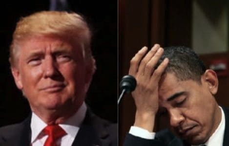 Just in: Trump hammers ANOTHER nail into Obama's legacy