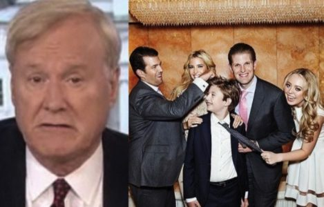 Chris Matthews CROSSES THE LINE with despicable comment about Trump kids…