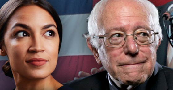 Socialists Unite! Bolshevik Bernie And Ocasio-Cortez Campaign Together In Kansas.