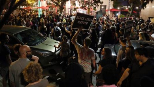 Dozens arrested as second night of St. Louis protests turns violent