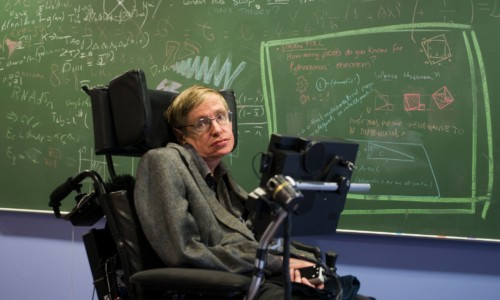 Stephen Hawking, 76, Dies.