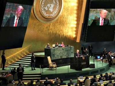 President Trump Rebukes Globalism, Touts 'Doctrine of Patriotism' in U.N. Speech.