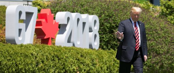 Trump Will Skip Out On Climate Change Portion Of G7 Summit.